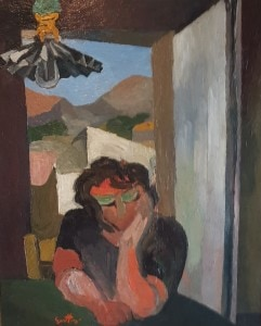 Renato Guttuso-La madre-olio su tela- 60 x 48-1937