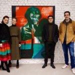 da sx Myriam Kühne-Rauner, Alessia Romano, Marco Bongiorni e Federico Montagna